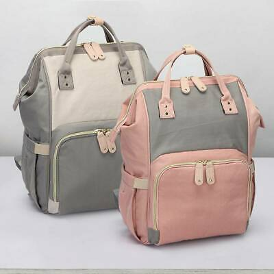 Mummy Nappy Changing Bag GENUINE LAND Multifunctional Large Baby Diaper Backpack