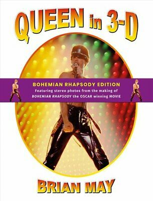 Queen in 3-D (3-D Stereoscopic Book) by Brian May 9781999667429 | Brand New