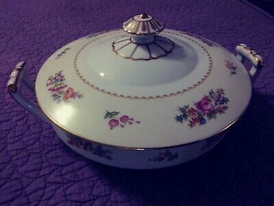 Vintage Noritake ROSE CHINA Made in Occupied Japan Covered Serving Dish