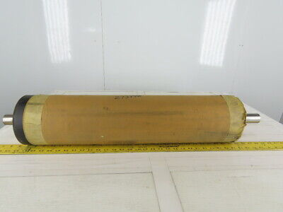 """Dematic 6"""" OD Lagged 26-1/2"""" BF 26-1/2"""" Conveyor Drive Belt Pulley Roller"""