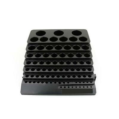 Drill Bit Black Storage Box Milling Cutter Drill Finishing Organizer Holder Case