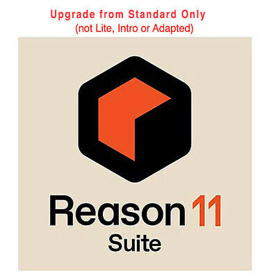 Propellerhead Reason 11 Suite, upgrade from any full version of Reason