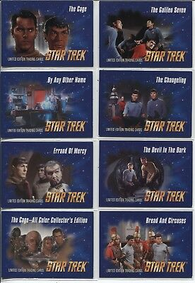 1993 Star Trek Video Episode Cards - Complete 80-Card Set ***Free Shipping***