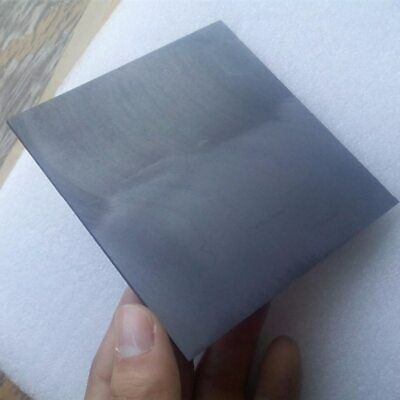 5 100x100x1mm High Pure Carbon Graphite Sheet Plate Plate Edm Electrode Plate