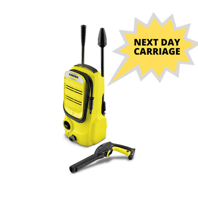 Karcher K2 Compact Pressure Washer - 3 Year Warranty - Next Day Delivery