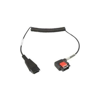 Zebra Audio Cable For Computer, Headset CBL-NGWT-AUQDLG-01