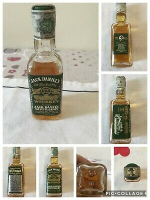 Jack daniel's green label miniature mignon 1972