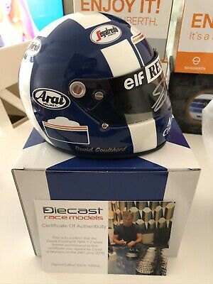 David Coulthard Signed 1/2 Helmet 1995 COA