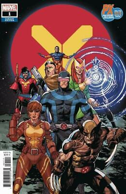 X-Men 1 PX NYCC Exclusive Variant Marvel Comics 2019 NM 9.6