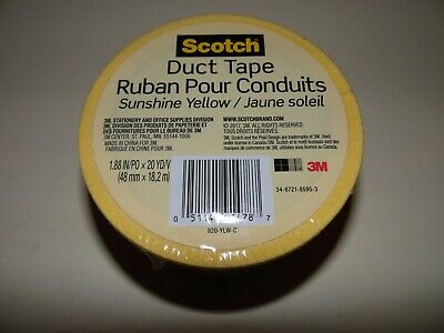 3M SCOTCH CLOTH DUCT TAPE BLACK RED YELLOW BLUE GREEN 48MM X 8YDS MULTIPURPOSE
