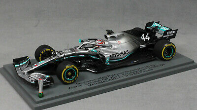 Spark Mercedes-AMG F1 W10 China Winner 2019 Lewis Hamilton 1000th GP S6071 1/43