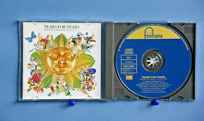 Tears For Fears – Tears Roll Down (Greatest Hits 82 To 92) - 12 Track 1992 Cd