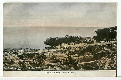 THE WATCH DOG, Ogunquit, Maine 1907 - 1915 Land and Seascapes Postcard