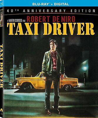 Taxi Driver 40th Anniversary Ed. Blu-Ray Nov-16 M.Scorsese R. De Niro All Region