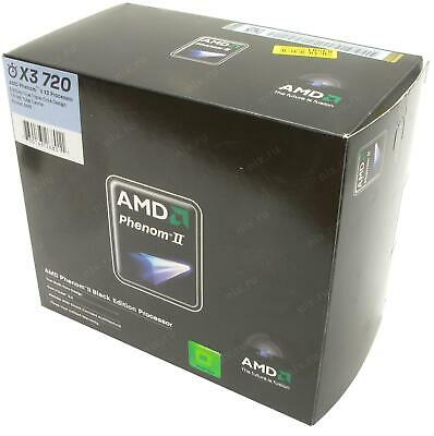 NICE AMD Phenom II X3 720 2.8GHz Triple-Core HDZ720WFK3DGI Processor CPU
