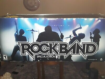Rock Band - Special Edition (PlayStation 3 rare) everything still factory sealed