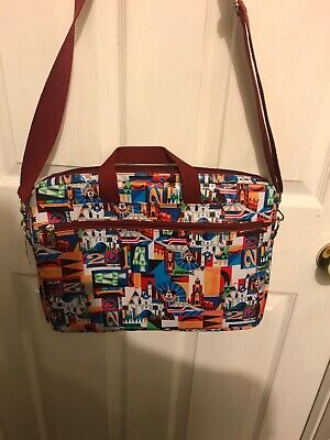"Disney Parks Laptop Case-Fits Most Laptops Up To 15"" New With Tags"