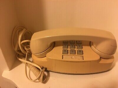 Beige Princess Phone! Western Electric! Bell System Telephone! Pacific Tel Co!!!