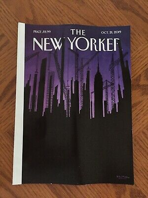 THE NEW YORKER Magazine October 21, 2019 Towering Wealth NEW No Label