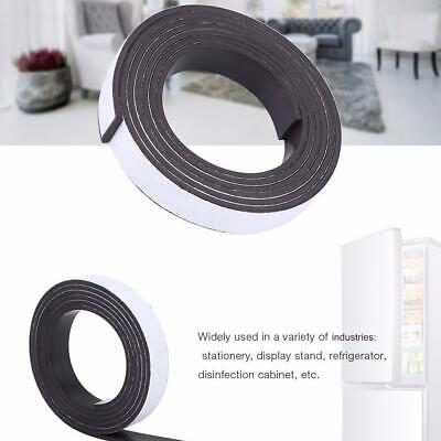 Strong Magnetic Tape Strip Magnetics Rubber Self Adhesive 10mmx1.5mmx1m