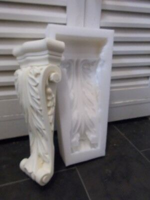 ORNATE LONG CORBELS  Silicone Rubber Mold DIY FURNITURE FIRE PLACE Projects