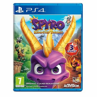 PlayStation 4 Spyro Reignited Trilogy PS4 Brand New Sealed Official UK PAL