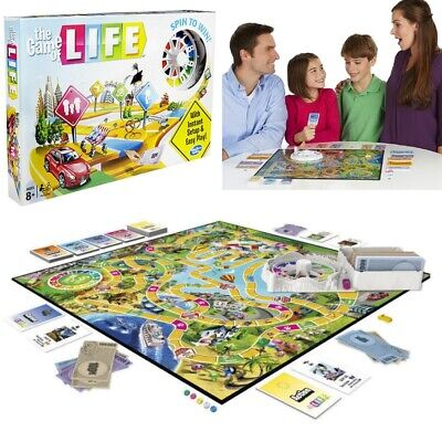 New The Game of Life Board Game Party Holiday Fun Kids Family Interactive Game
