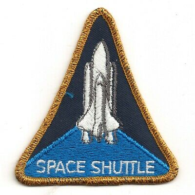 NASA SPACE SHUTTLE Embroidered Sew-on Patch