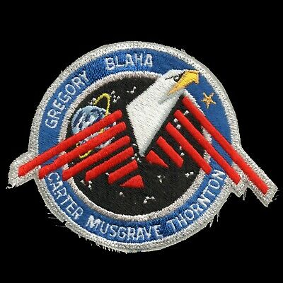 "1989 NASA SPACE SHUTTLE STS-33 Embroidered Iron-on 5"" Patch"