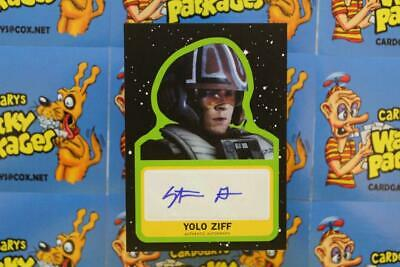 Journey To Star Wars The Rise Of Skywalker Autograph Stefan Grube Yolo Ziff 7312