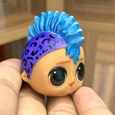 Authentic Head For DIY LOL Surprise Dolls Boys series 1 PUNK BOI BOY Toy l.o.l.