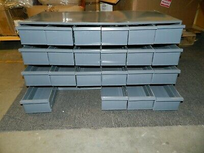 Durham Small Parts Steel Storage Cabinet 24 Drawer 033-95