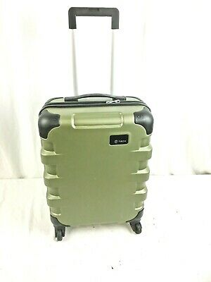 """Tumi Luggage Green T-Tech Cargo 22"""" Carry-On Spinner Wheels"""