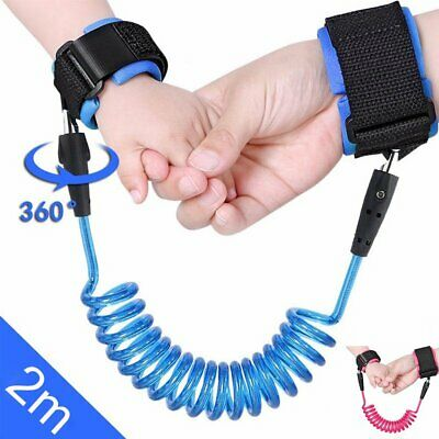 Anti-Lost Baby Leash Harness Walking Toddler Safety Strap Wrist Link Child Kid