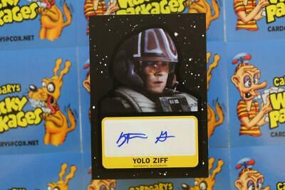 Journey To Star Wars The Rise Of Skywalker Autograph Stefan Grube 70/99