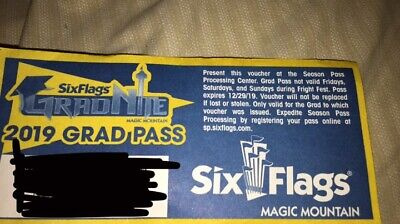 six flags magic mountain season pass