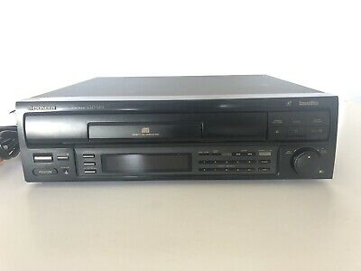 Pioneer CLD-S201 Laser Disc Player Laserdisc LD CD Works A/V Cables Video Japan