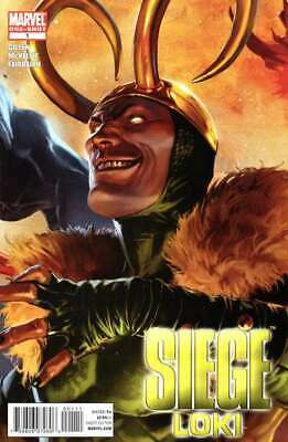 Siege (2010 series) Loki #1 in Near Mint condition. Marvel comics [*nl]