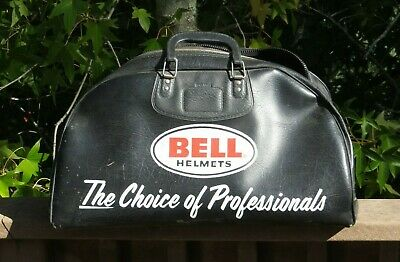 Vintage BELL Motorcycle Helmet Carrier Bag Large - The Choice of Professionals