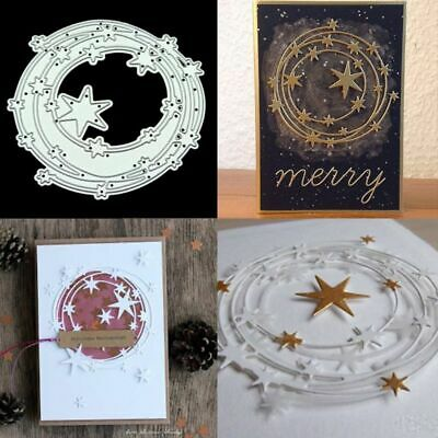 Circle Star Cutting Dies Stencil Scrapbooking Embossing Paper Craft Cards Decor