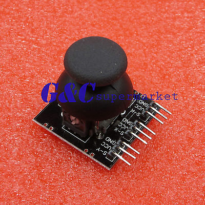 New 9Pin JoyStick Breakout Module Shield PS2 Joystick Game Controller