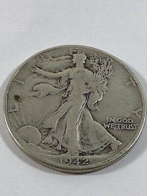 1942 Walking Liberty Half Dollar - I'm Not An Expert - No Reserve - NR #161
