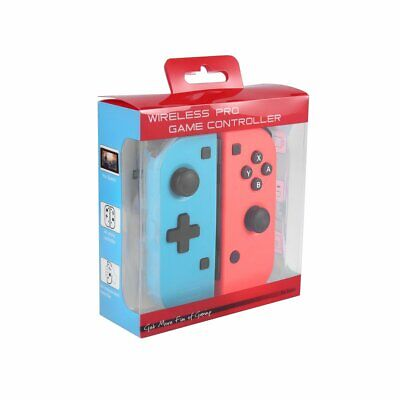 Nintendo Switch Joy-Con Neon Red/Neon Blue Controllers
