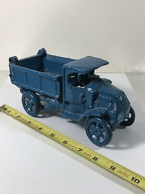 Vintage Cast Iron Old Truck Toy Antique - Heavy - No Reserve - Fast Shipping