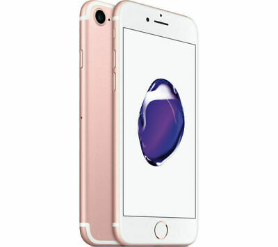Apple iPhone 7 Factory Unlocked 32GB GSM SmartPhone Rose Gold Very Good