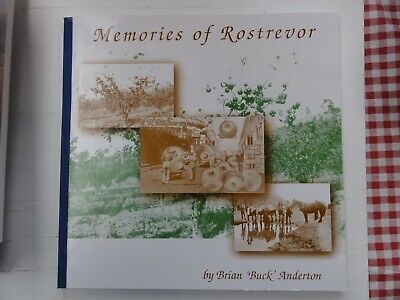 Memories Of Rostrevor Apple Orchard In Southern Tasmania Brian Anderton Signed