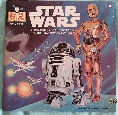 Star Wars - 1979 Record and book - EX