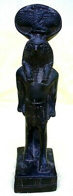 Egyptian Stone Sculpture of Bust of Egyptian god Ra
