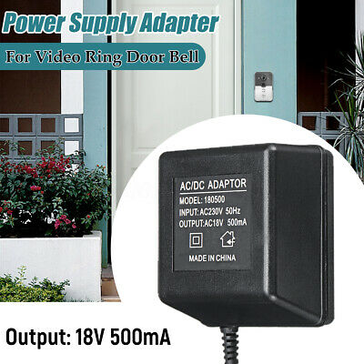 AU Plug Power Supply AC Adapter Battery Charger For Ring Video Doorbell 2/Pro