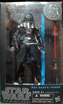 "HASBRO STAR WARS THE BLACK SERIES 6"" INCH [#02 DARTH VADER] Action Figure"